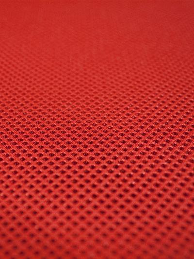 Tejido 3d rojo
