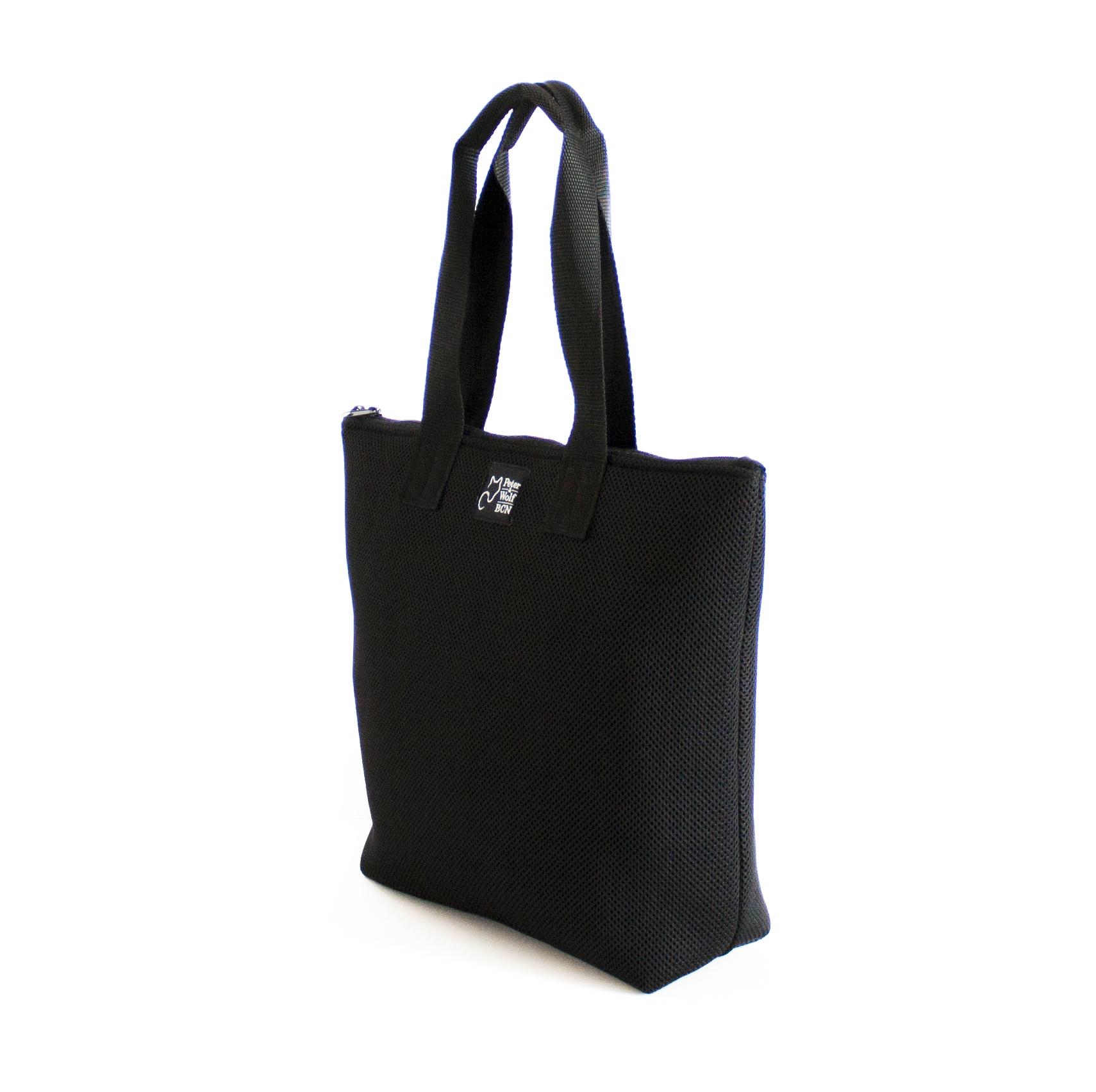 shopping bag negro