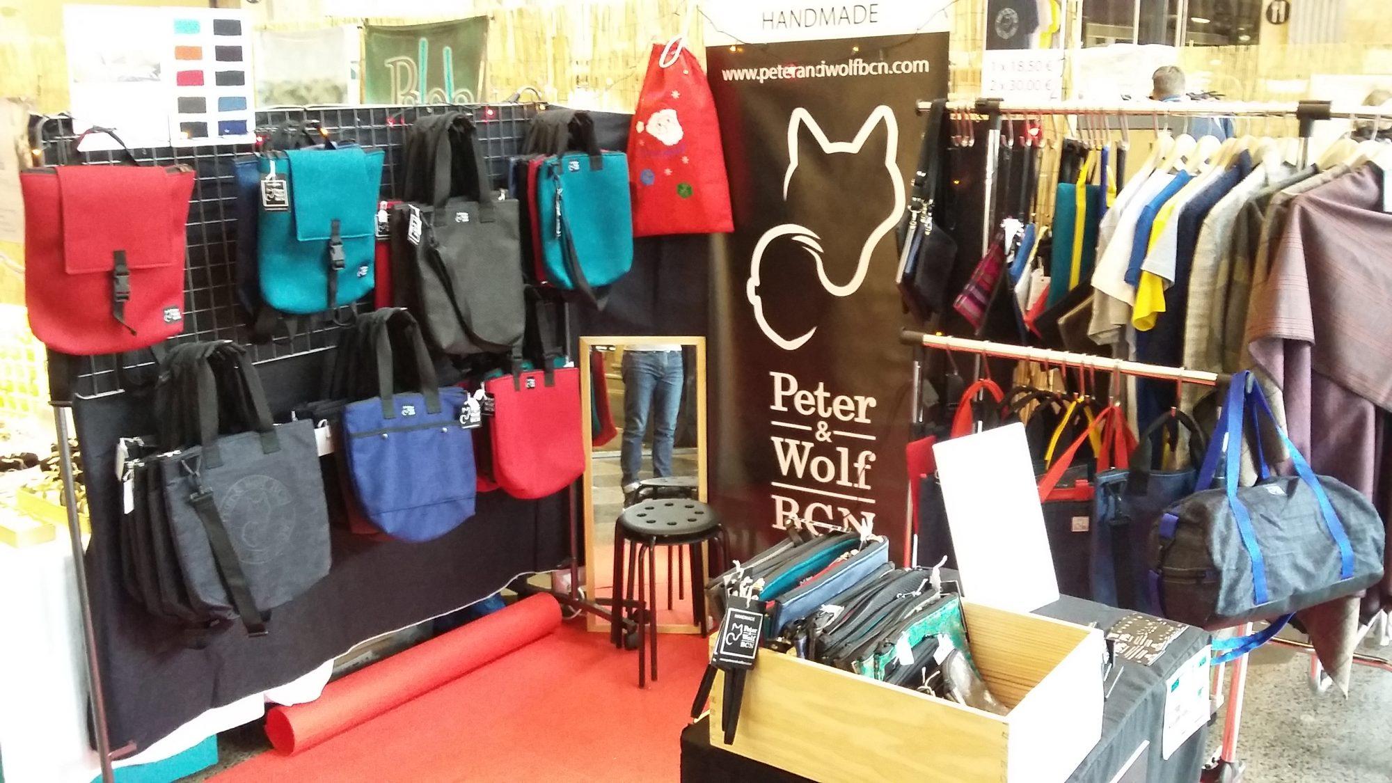 Buena acogida de Peter & Wolf BCN en los markets de diciembre 2017