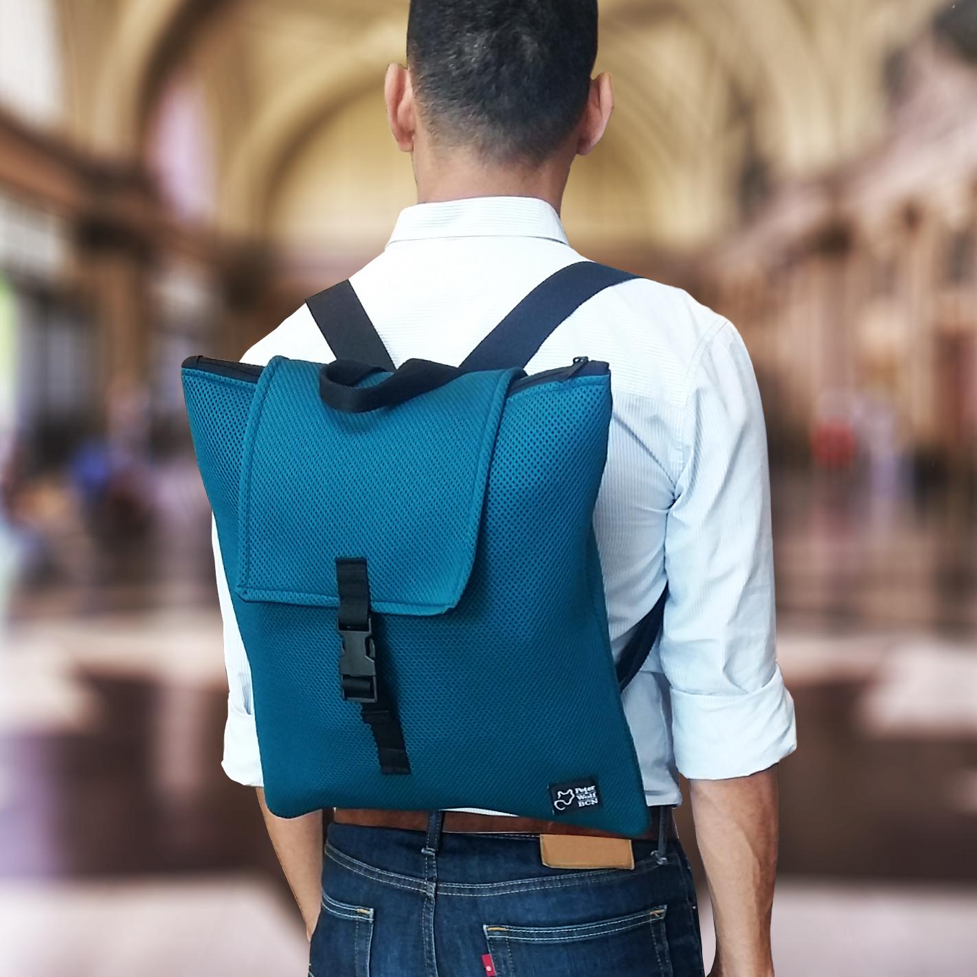 Petrol Green backpack
