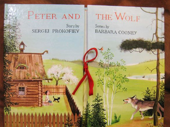 El cuento de Peter and the Wolf