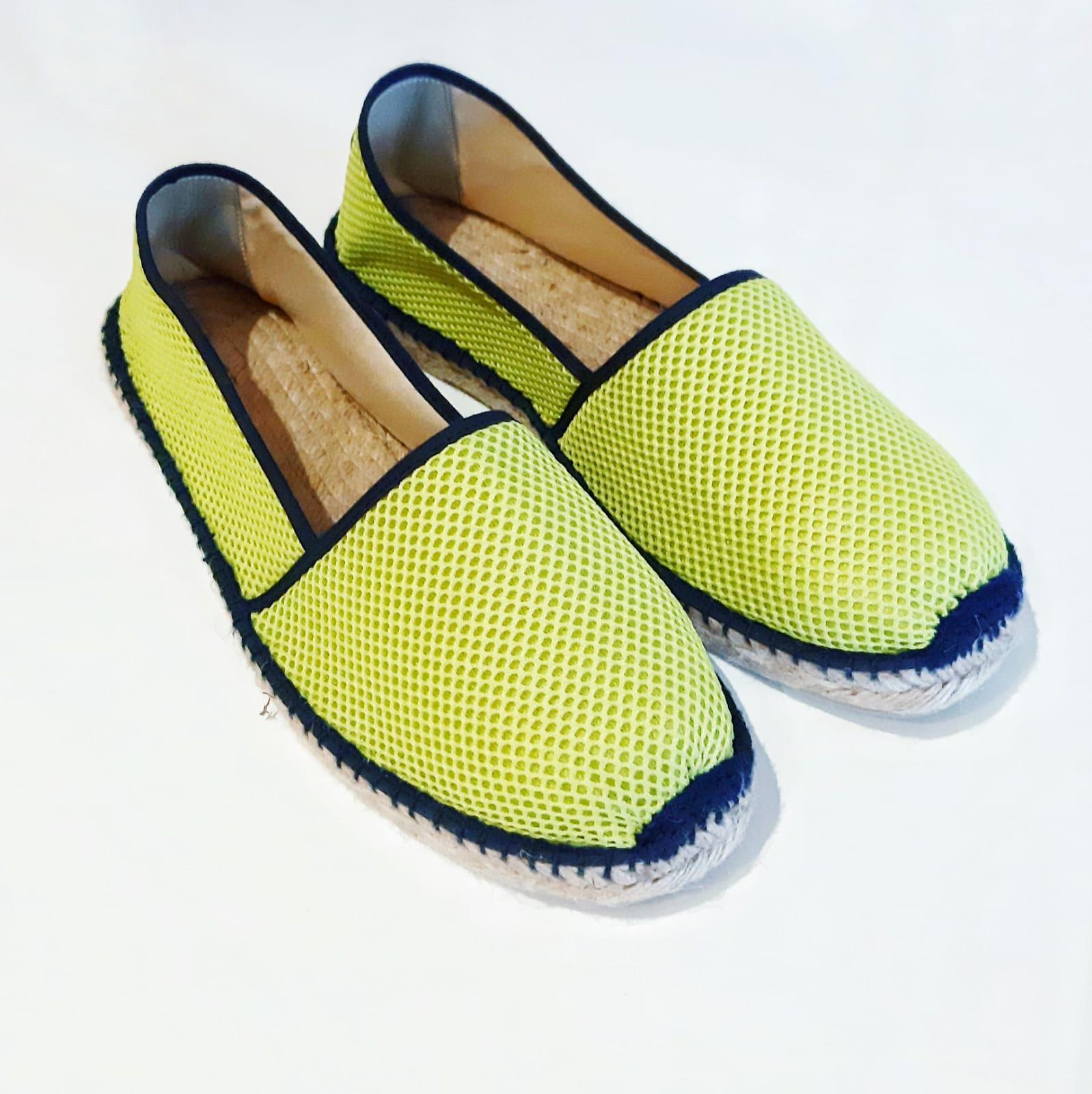 Alpargata Lime Green 3D principal
