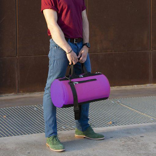 bolsa deporte rosa