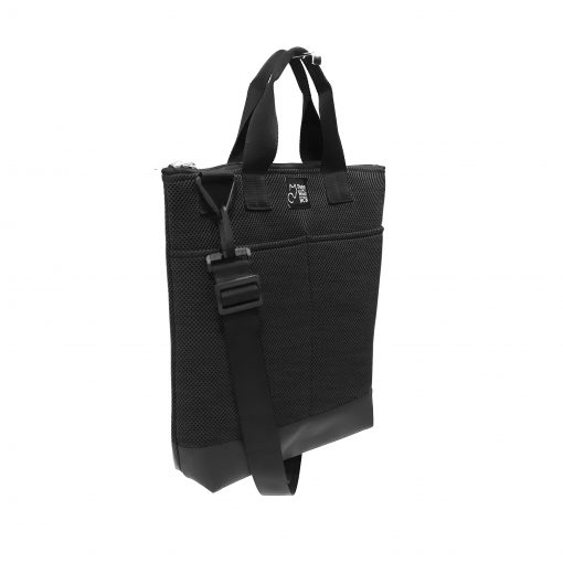 Tote Bag Pockets Asa Corta Sport negro 2