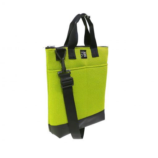 Tote Bag Pockets Asa Corta Sport verde lima 2