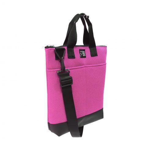 Tote Bag Pockets Asa Corta Sport rosa 2