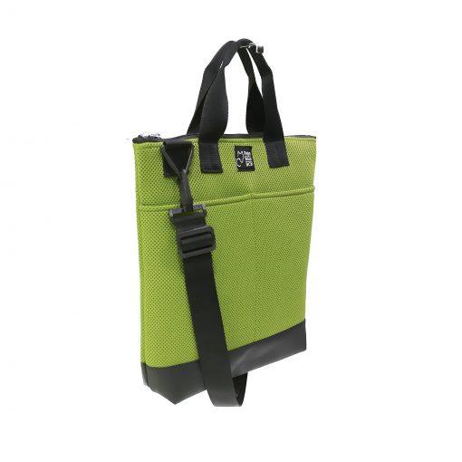 Tote Bag Pockets asa Corta Sport verde pistacho 2