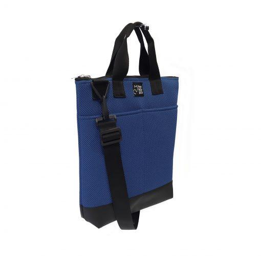 Tote Bag Pockets Asa Corta Sport azul marino 2