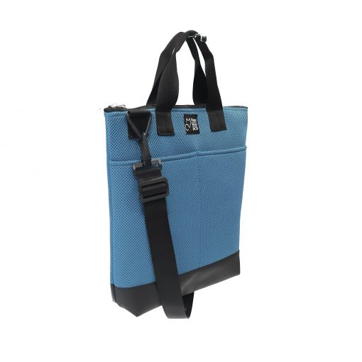 Tote Bag Pockets Asa Corta Sport azul cielo 2