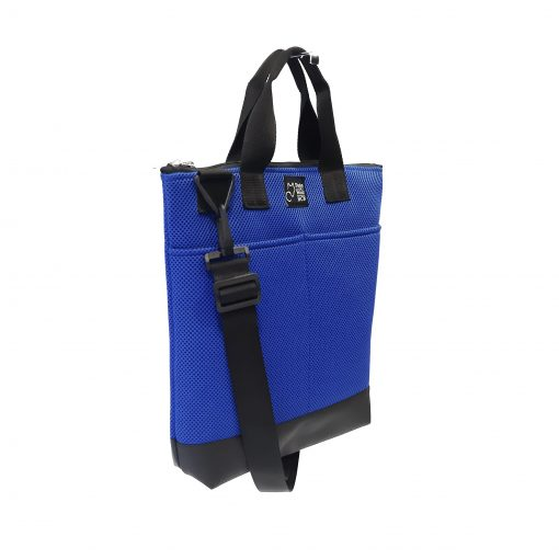 Tote Bag Pockets Asa Corta Sport azul royal 2