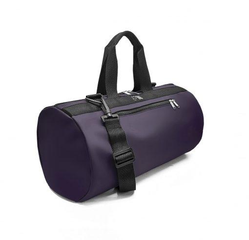 Bolsa deporte tejido náutico violeta