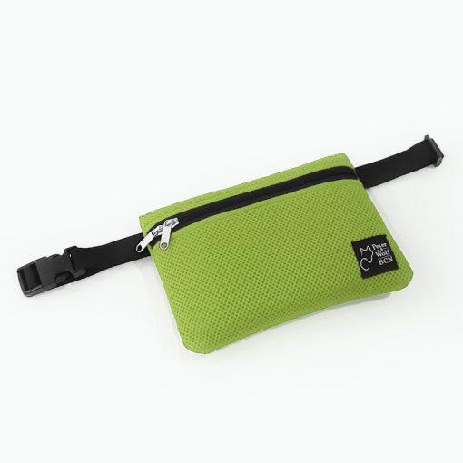 Riñonera en 3D verde pistacho