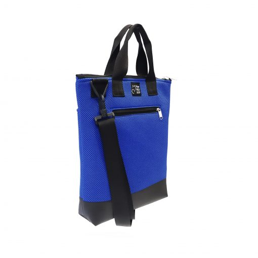 Tote Bag Pockets Asa Corta Sport azul royal 1