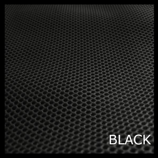 Tejido técnico 3D negro