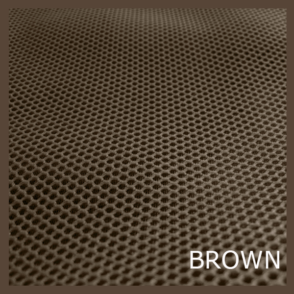 Tejido técnico 3D marrón