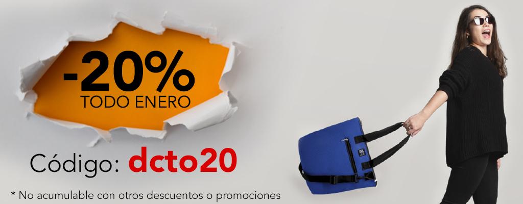 Banner descuento 20% enero 2021 ESP