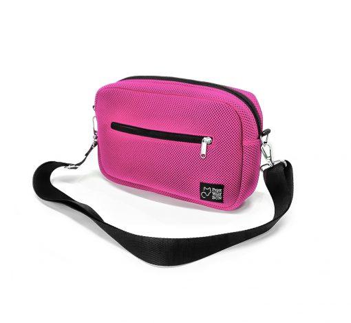 Bandolera Puffy Sport rosa