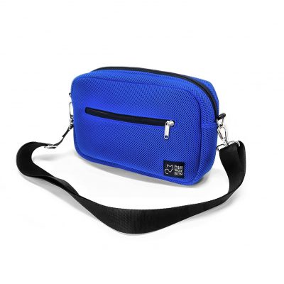 Bandolera Puffy sport azul royal