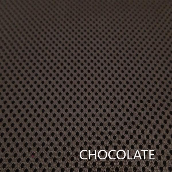 Tejido técnico 3D marrón chocolate