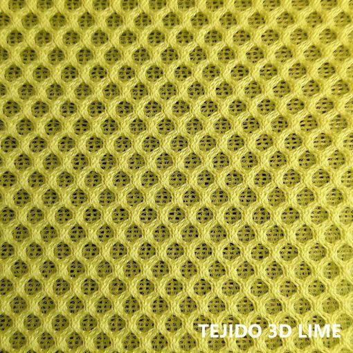Tejido 3D verde lima