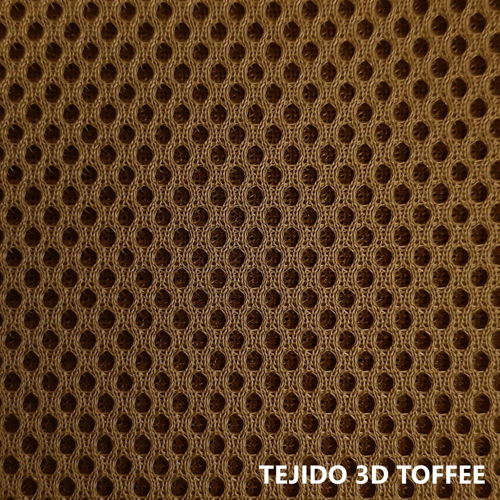 Tejido 3D marrón claro