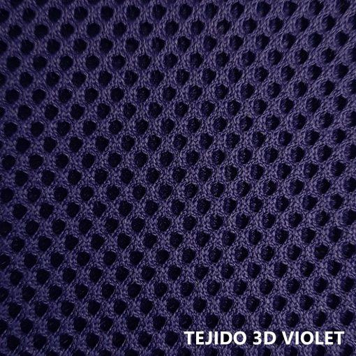 Tejido 3D violeta