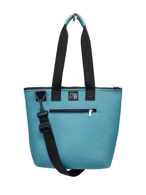 Bolso Barco Pockets en tejido 3D azul celeste