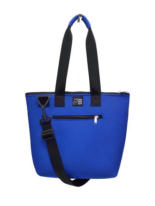 Bolso Barco Pockets en tejido 3D color azul royal