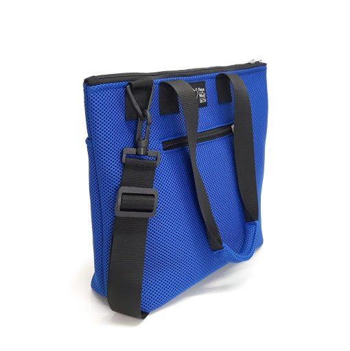 Bolso Barco Pockets en tejido 3D azul royal
