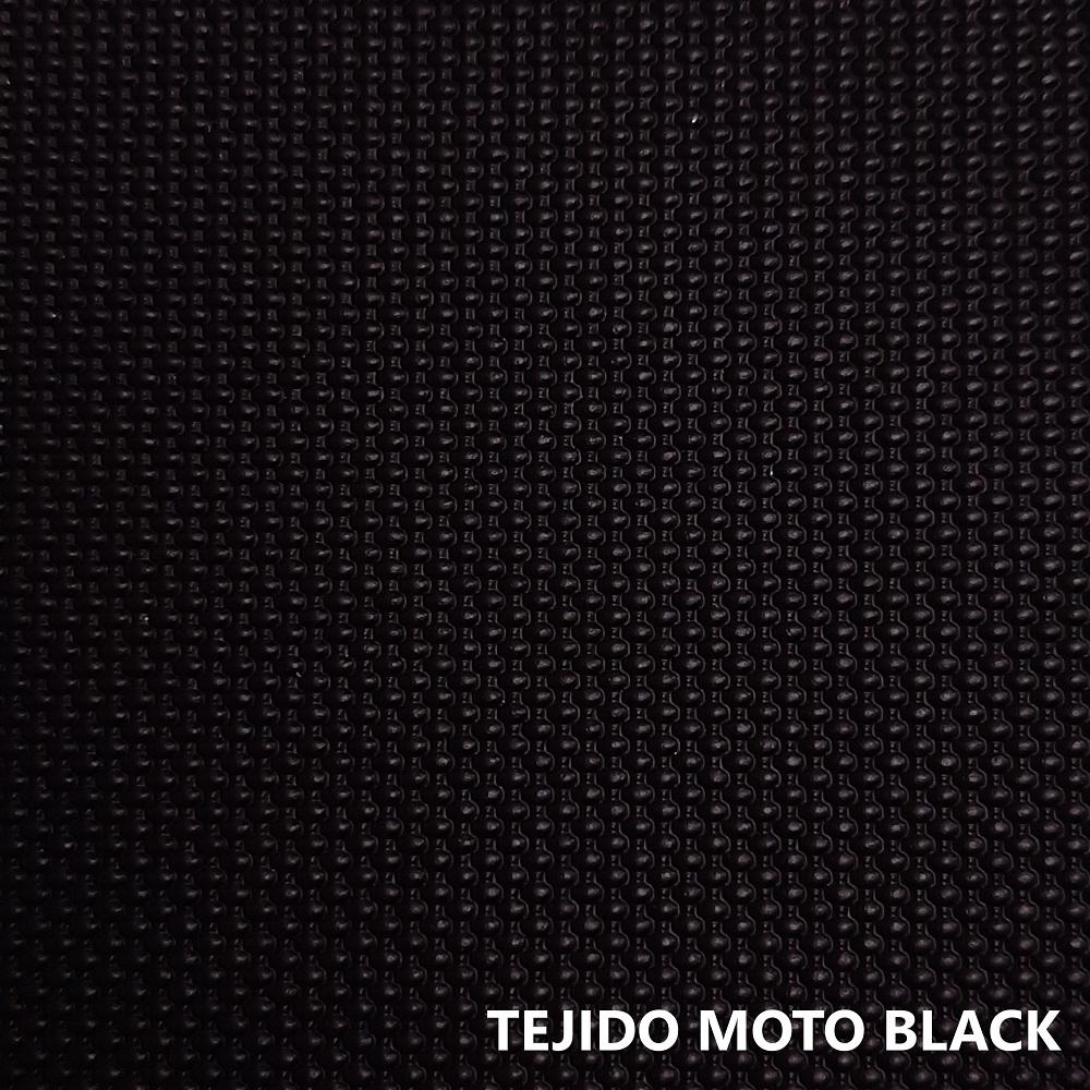 TEjido de asiento de moto negro