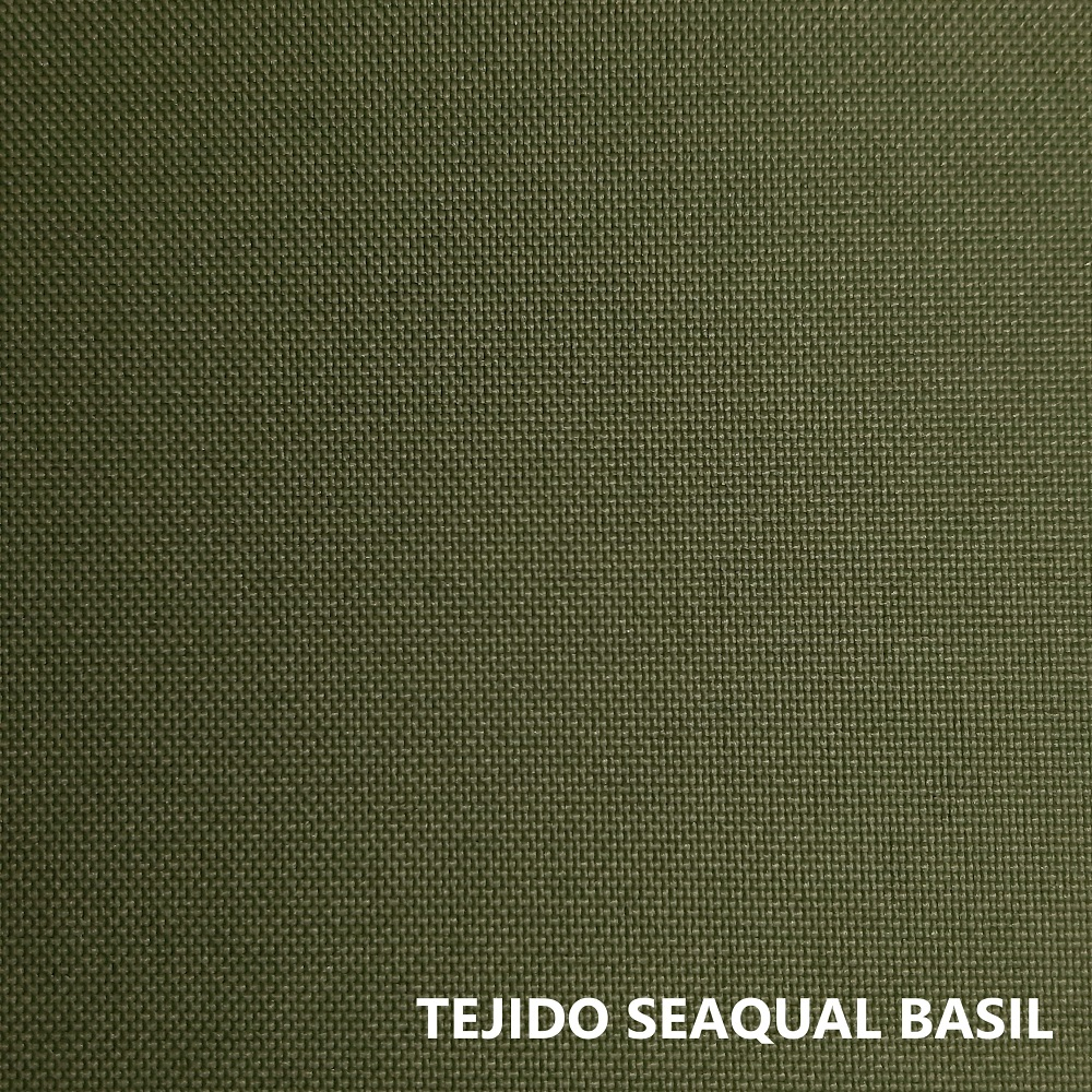 Tejido Seaqual verde albahaca