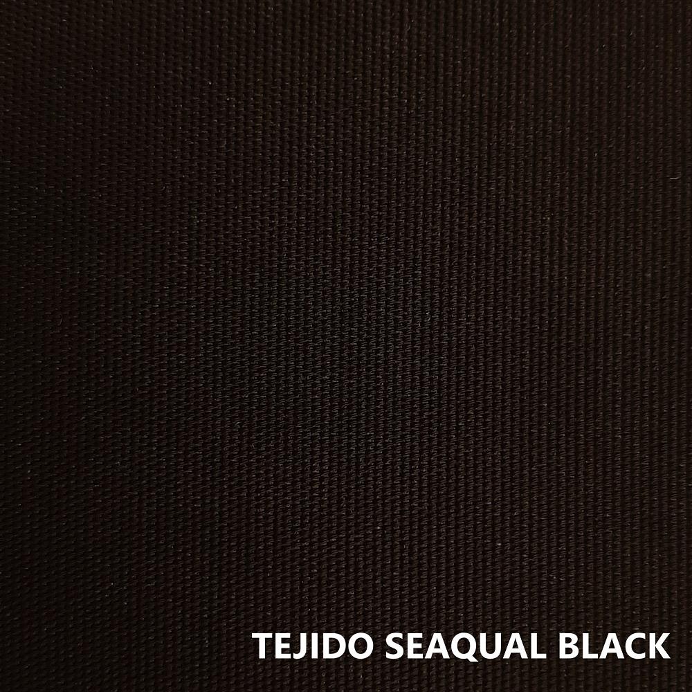 Tejido Seaqual negro