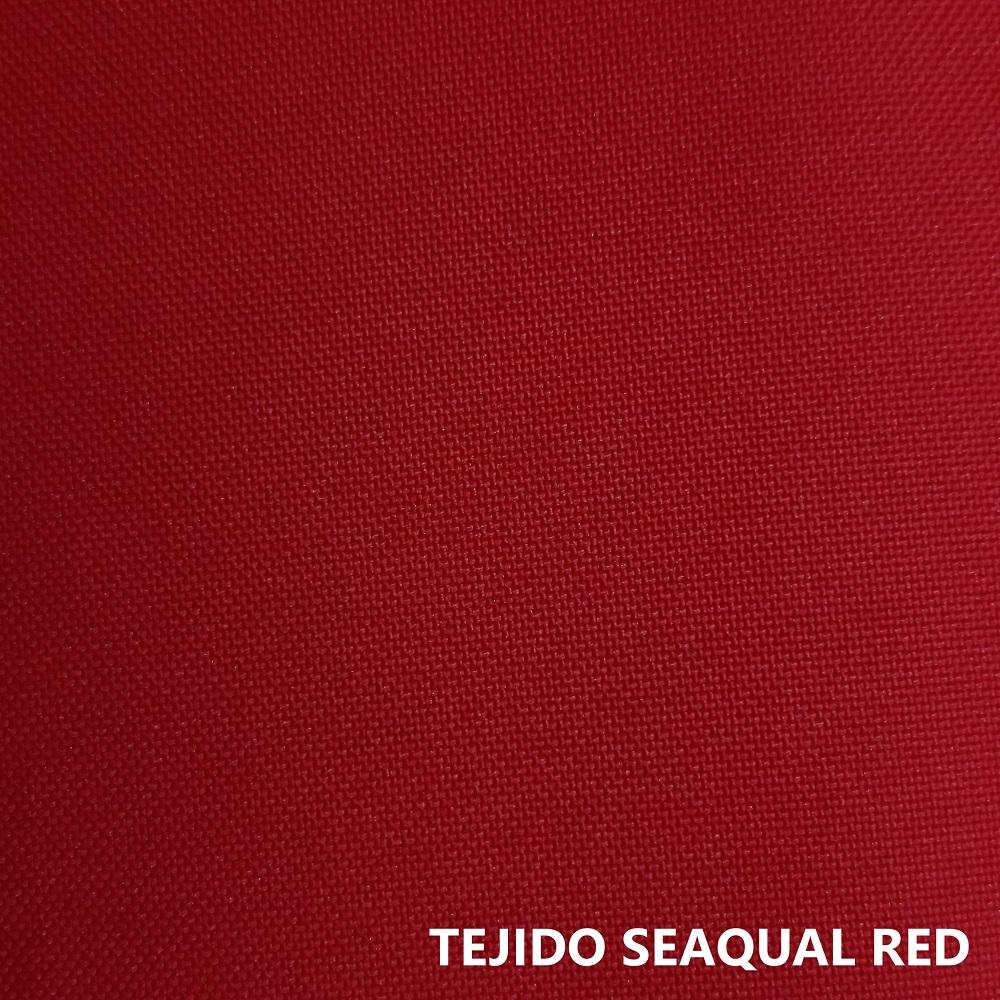 Tejido Seaqual rojo