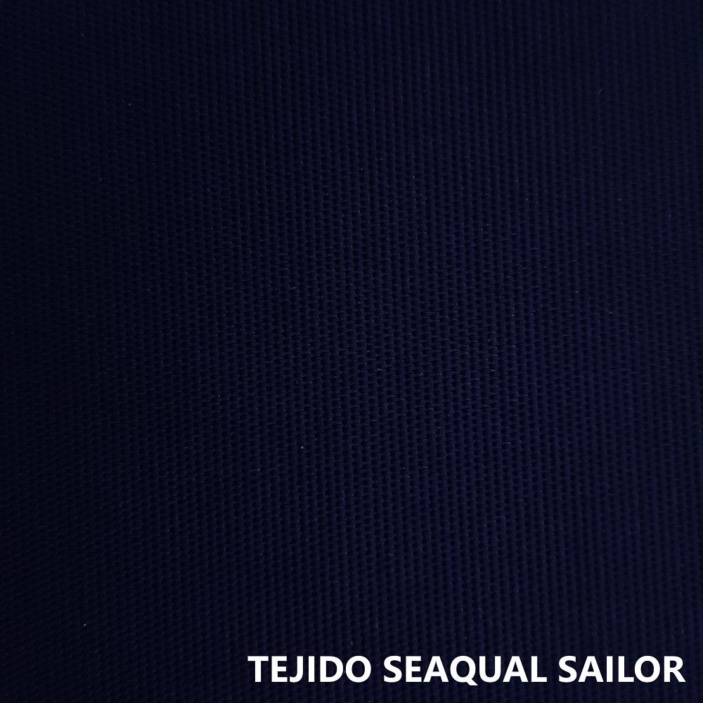 TEjido Seaqual azul marino