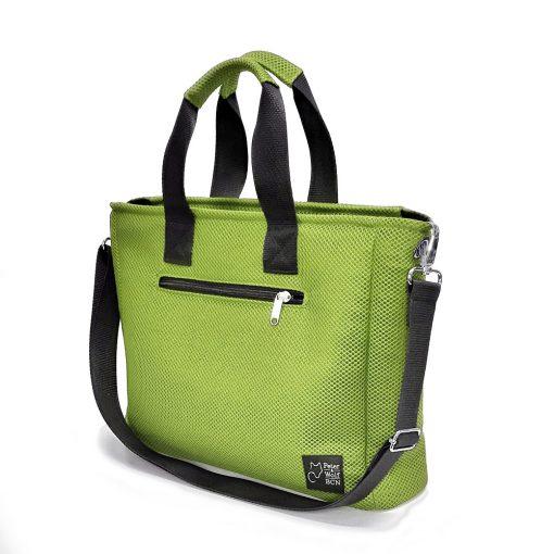Bolso BOX en 3D verde pistacho