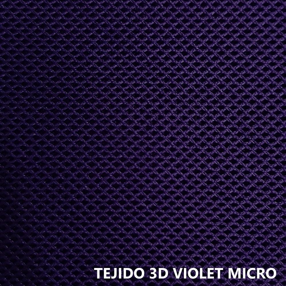 Tejido técnico 3D Micro violeta